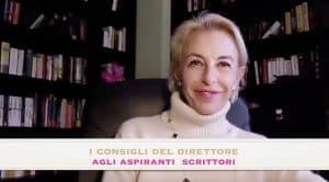 Il nuovo video con i consigli agli aspiranti scrittori
