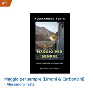 Read more about the article Maggio per sempre, un altro bestseller di Alessandro Testa